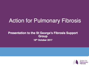 Action for Pulmonary Fibrosis Presentation