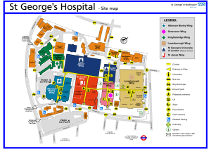 St Georges Location Map
